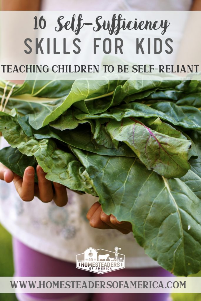 10 Self-Sufficiency Skills for Kids