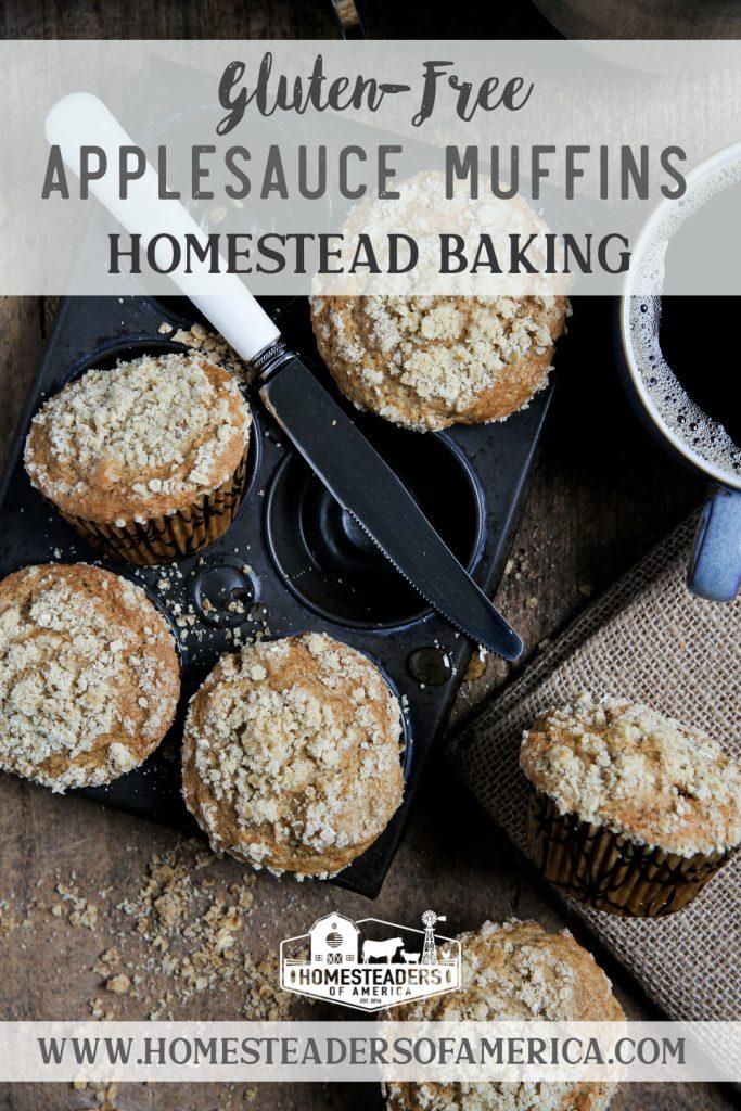 Gluten-Free Applesauce Muffins Recipe
