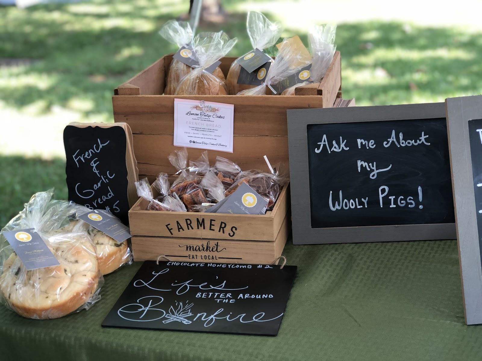 Farmer's Market Set Up