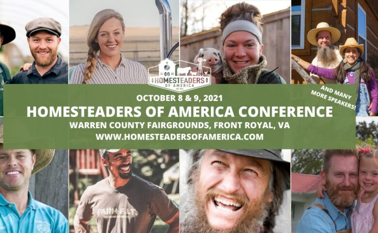 2021 Homesteaders of America Conference Graphic