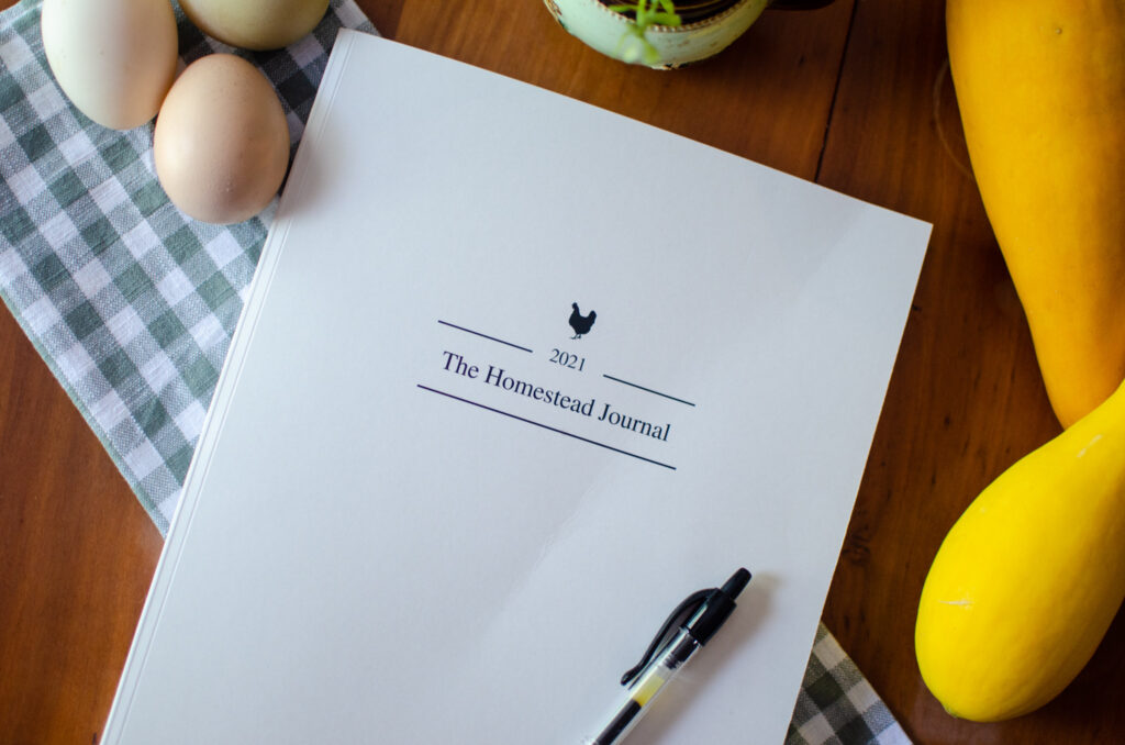 Announcing the 2021 The Homestead Journal Planner -- the farm planner for every homesteader