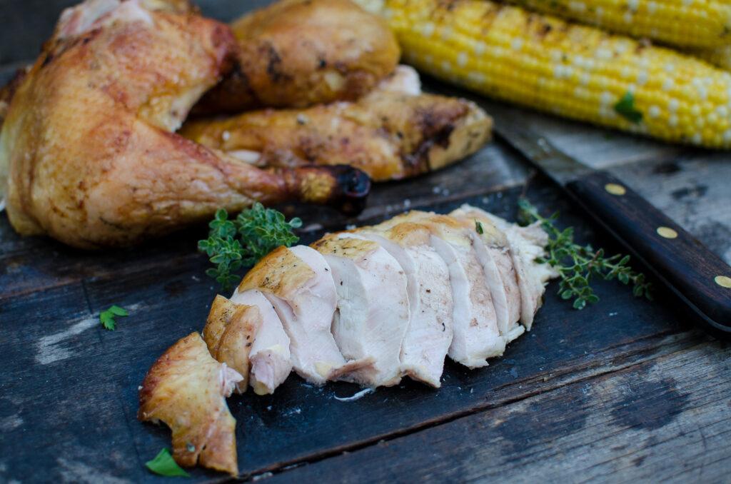 Grilled Freedom Ranger Chicken: Cornish Cross vs. Freedom Ranger