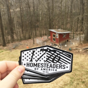 1176 Homesteading Decal