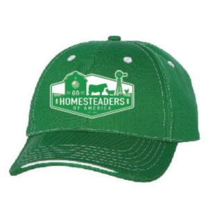 HOA Green Farmer's Cap