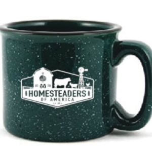 HOA Logo Camp Mug - Green - Ceramic