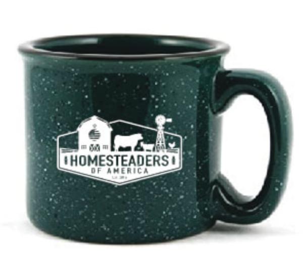 HOA Logo Camp Mug - Green - Ceramic