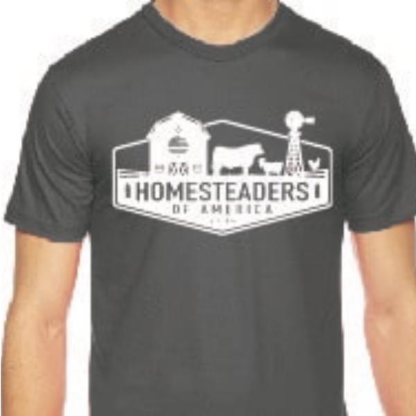 HOA Logo Shirt Ashpalt Grey