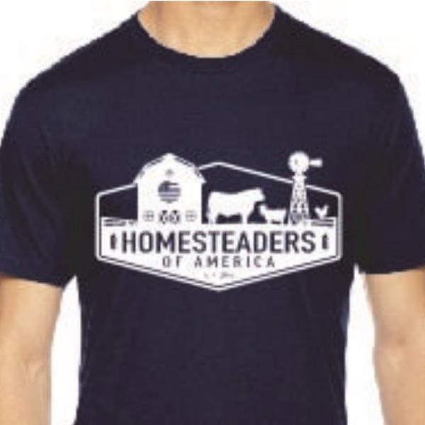 HOA Logo Shirt Navy Blue