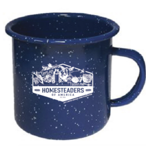 Blue Heritage Homestead Mug