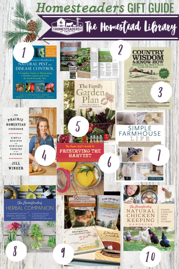 Gifts for Homesteaders (Books)