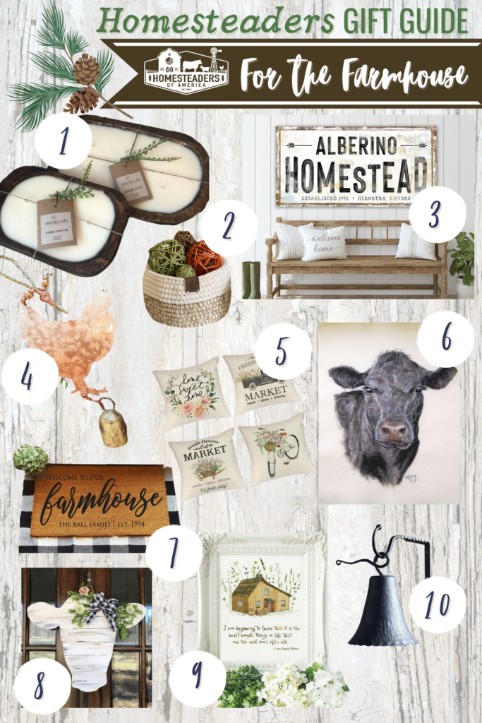 Gifts for Homesteaders (Farmhouse)