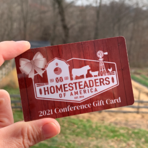 2021 HOA Conference Gift Card