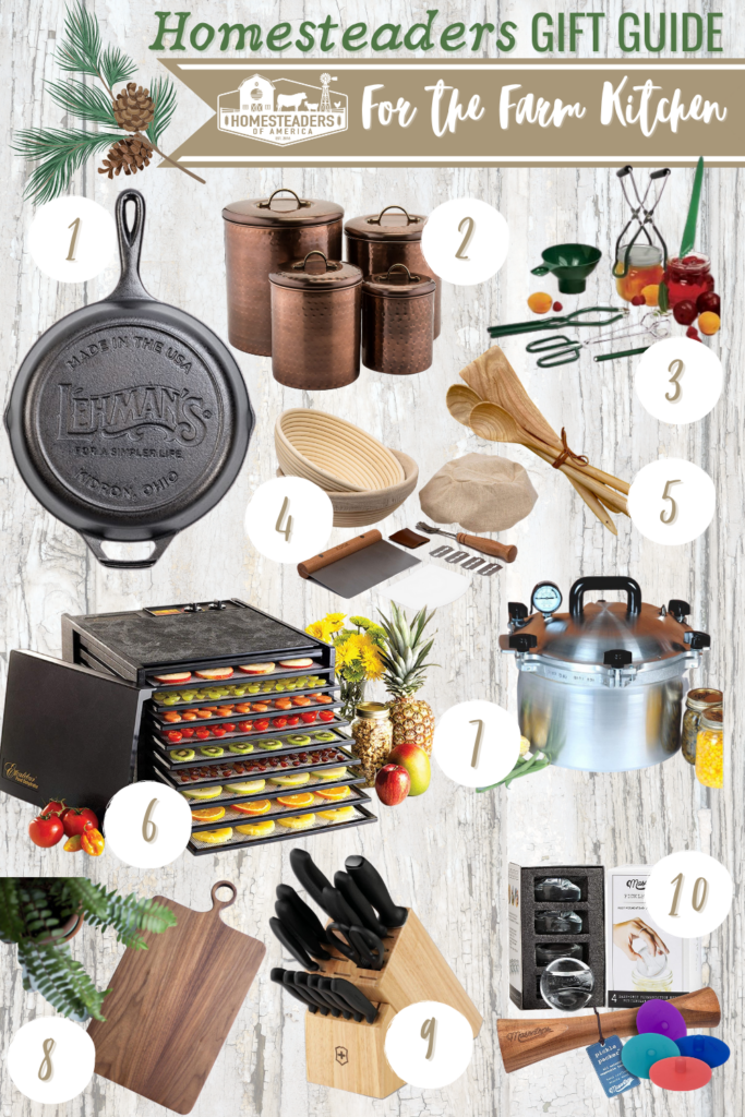Gifts for Homestaders (Farmhouse Kitchen)