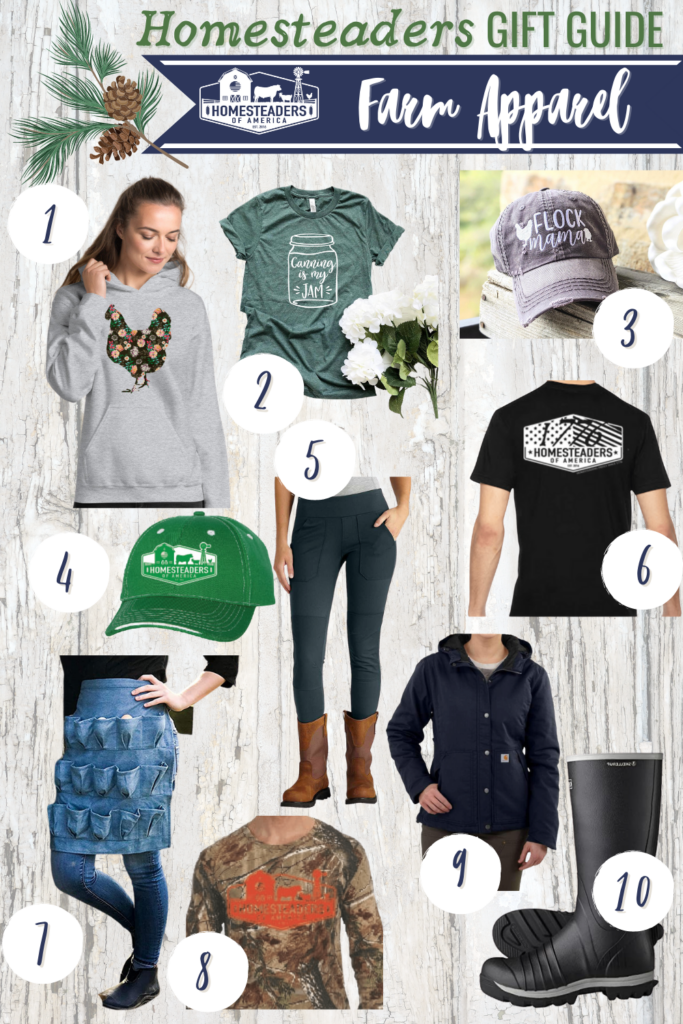 Gifts for Homesteaders (Farm Apparel)