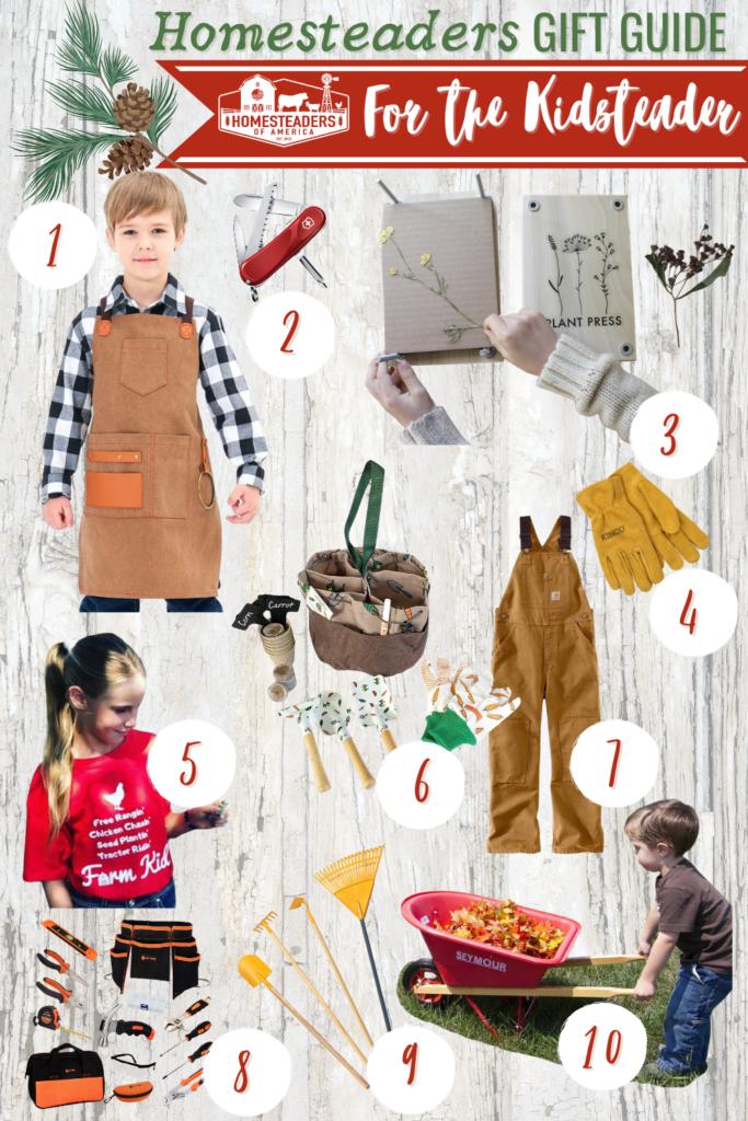 Gifts for Homesteaders (Kidsteader)