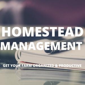 Homestead Management Tools